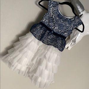 Lace Ruffle dress for girls